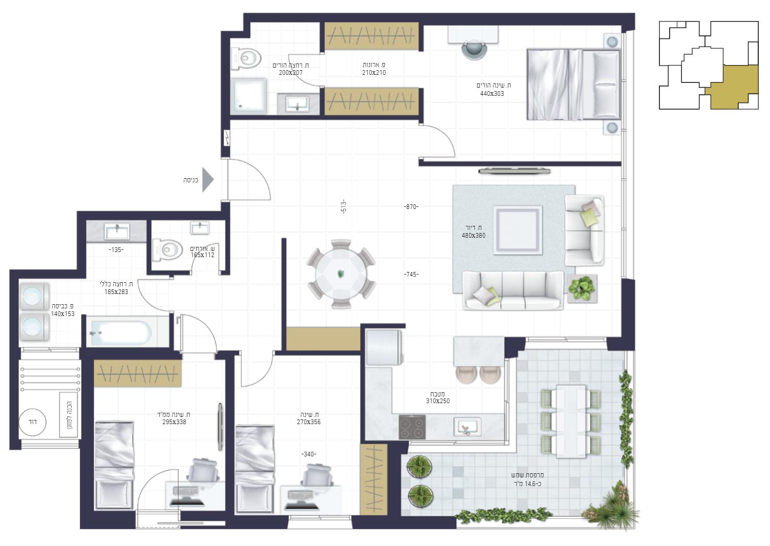 דירה 4